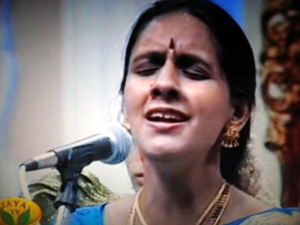 Gayatri in performance
