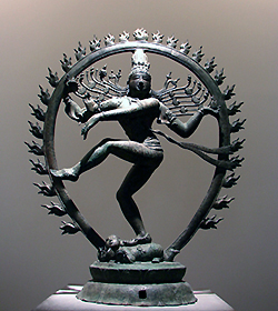 Shiva's cosmic dance of blis