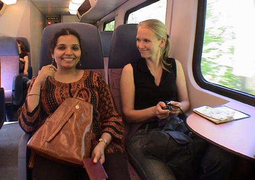 Kala Ramnath and Lenneke van Staalen