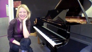 Valentina Lisitsa in London, April 2009 (photo by Pieter de Rooij)